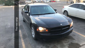 2009 Dodge Charger Black Sedan