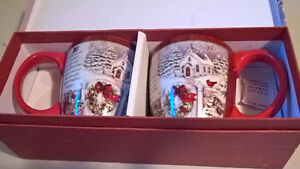 "Lang ""Gifts of Christmas"" Boxed Christmas Cups/ Mugs"