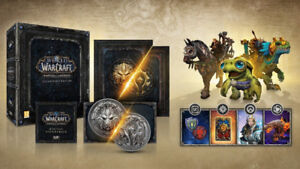 World Of Warcraft Battle for Azeroth Collector Edition