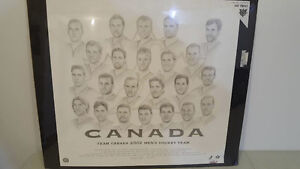 Limited 2002 Team Canada Men's Hockey Gold Medal Lithograph