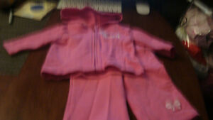 BABY GIRL PINK SWEATER OUTFIT