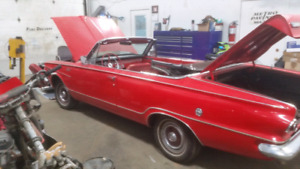 SOLD!!!!!63 convertible