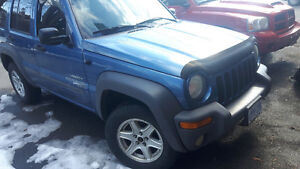 2004 Jeep Liberty Grizzly edition SUV, Crossover