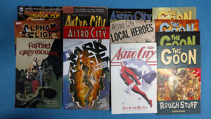 Comic books Astro City, Goon, Fafhrd and the Greymouser, DC