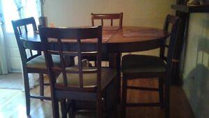 Set de table hauteur bistro