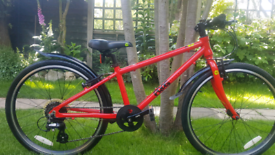 "Frog 62 24""wheels kids bike."