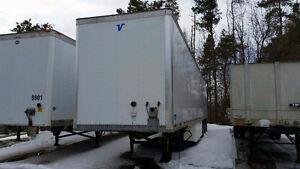 Remorque Dry Box Vanguard 2012 53 pieds