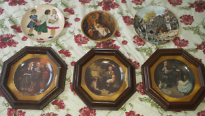 Norman Rockwell Plates - REDUCED PRICE!