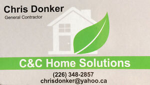 C&C Home Solutions  ( Professional and Affordable) Windsor Region Ontario image 1