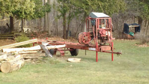 Portable saw milling services
