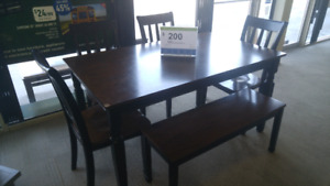 Eh Owingsville 6pc dinette with bench 51260376