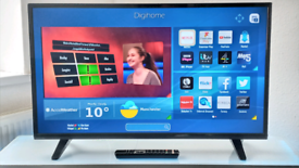 """40"""" SMART DIGIHOME TV WITH REMOTE, WIFI, APPS, FREEVIEW, CAN DELIVER!!"""