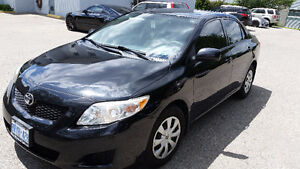 2009 Toyota Corolla Sedan manual in excellent condition for sale