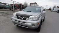 2005 Nissan X-trail SE NO RUST,CERTIFIED,E-TESTED,WINTER READY,