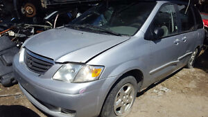 2000 MAZDA MPV SERIES FOR PARTS!! / PARTING OUT!! SD0315