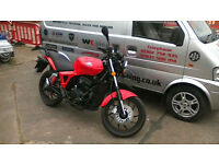 AJS NAC 12. 125cc Naked. Learner Legal. Commuter