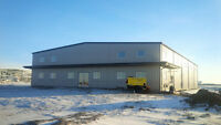 50 X 100 X 18 PRE FAB STEEL BUILDING GREAT SHOP/MFG