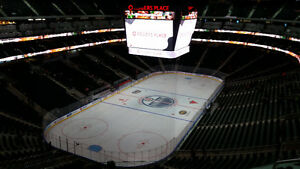 3 Oilers Tickets in private row Wild Coyotes Flyers Red Wings
