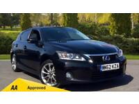 2013 Lexus CT 200h 1.8 Advance CVT Automatic Petrol/Electric Hatchback