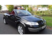 RENAULT MEGANE DYNAMIQUE VVT - 12 MOTHS MOT 2005 Manual 55000 Petrol Black