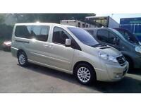 2013 Fiat Scudo Panorama Family 8 Seat MPV Taxi Minibus LWB 2.0 Multijet Diesel
