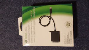 Hard drive transfer cable