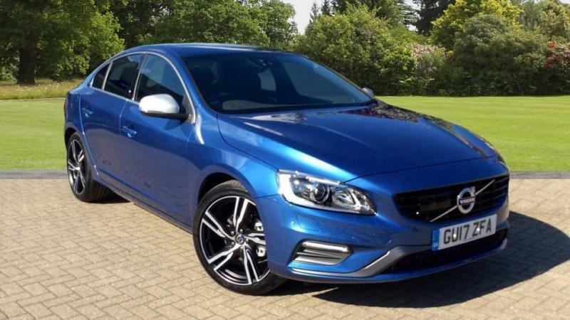 2017 volvo s60 t4 190hp petrol r design lux n automatic petrol saloon in horsham west sussex. Black Bedroom Furniture Sets. Home Design Ideas