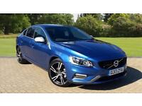 2017 Volvo S60 T4 190hp Petrol R Design Lux N Automatic Petrol Saloon