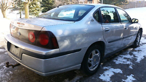 2003 Chevrolet Impala w 2 sets of tires