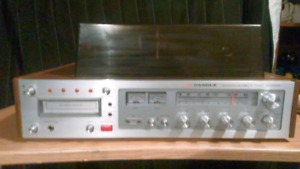Candle am fm 8 track stereo recorder