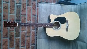 Academy acoustic/electric guitar