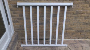 White Aluminum Pre-assembled Deck/Porch hand railing