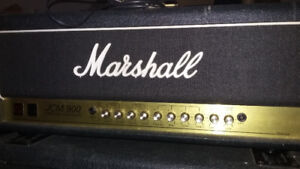 Marshall 900 100w head w/800 cab