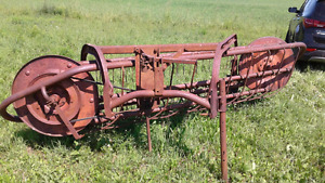 massey ferguson 3pt hitch side delivery rake