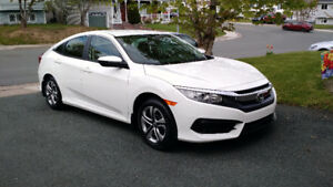 2016 Honda Civic Sedan Lease Takeover