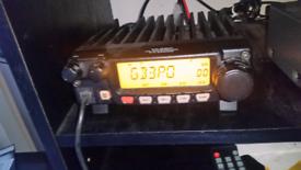 Yaesu FT-2800M 2 Meter Band Ham Amateur Radio Transceiver.