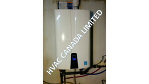 Tankless Water heater installation, service & maintenance
