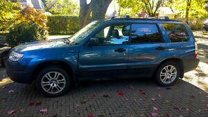 Forester 2008 Bleu, AWD, 139 400km, 5500$
