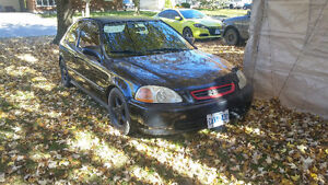 1997 Honda Civic Hatchback Kitchener / Waterloo Kitchener Area image 1