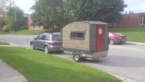 Travel trailer and utility trailer