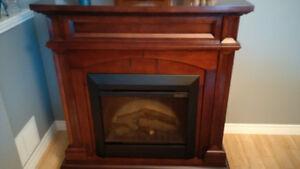 Dimplex Fireplace w/Cherry Mantel