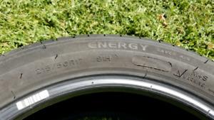 4 pneus Michelin energy saver a/s 215 50 17