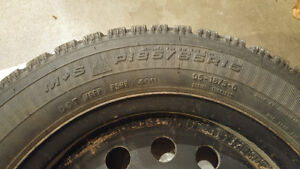 185 65R15 Good Year Tire Set with Rims