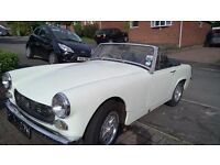 Austin Healey Sprite 1275 twin carb, 12 mths MOT (no advisories) free road tax, lovely little car