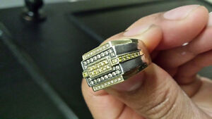 Mens GOLD rings 4 (available) package DEAL 2 for 1100