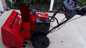 """Mint"" Honda Wheeled Two-Stage walk behind Snow Blower"