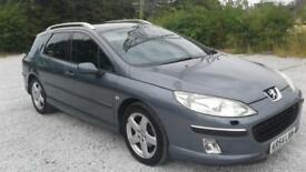 2004 54 PEUGEOT 407 SW 2.0 HDI EXCECUTIVE ESTATE LEATHER 6 SPEED CRUISE PX SWAPS