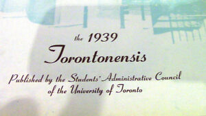 Torontonensis, Volume XLI, 1939 - University of Toronto Kitchener / Waterloo Kitchener Area image 2