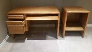 Computer Desk with Side Cabinet Kitchener / Waterloo Kitchener Area image 2