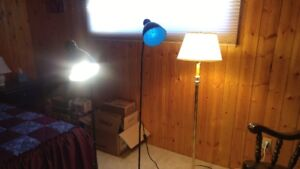 Assorted Pole Floor Lamps for Sale